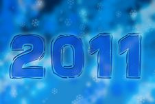 Free New Year 2011 Stock Image - 17008061