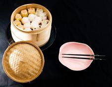 Chinese Raviolis Stock Photos