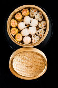 Chinese Raviolis Royalty Free Stock Photography