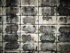 Brick Block Wall Stock Photo