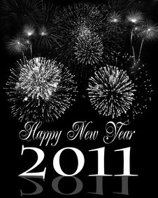 Free Happy New Year Royalty Free Stock Photography - 17008997