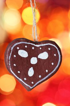 Free Gingerbread Cookies Decoration Royalty Free Stock Image - 17009206