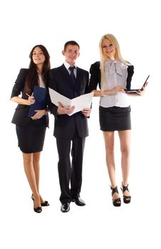 The Business Team Royalty Free Stock Photos