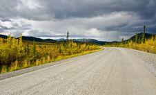 Free Dempster Highway Yukon Stock Image - 17009801