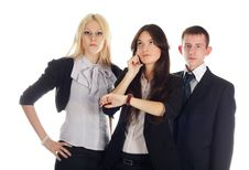 The Business Team Stock Photos
