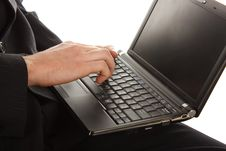 Free Working On A Laptop Stock Images - 17009844