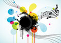 Free Abstract Background With Tunes. Royalty Free Stock Images - 17019439