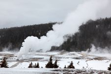 Free Hot Geysers In Yellowstone NP Stock Photography - 17010492