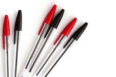 Free Pens Royalty Free Stock Photo - 17010675