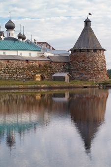 Free Towers Of Solovetsky Monastery Stock Photography - 17011142