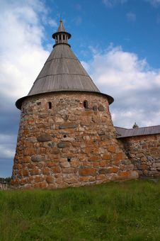 Free Towers Of Solovetsky Monastery Royalty Free Stock Photography - 17011167