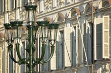 Free A Streetlight Characteristic Of The Center Of Turi Stock Image - 17011211