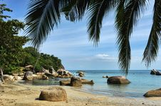 Free Tropical Lamai Beach, Thailand Royalty Free Stock Photos - 17011568