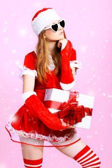 Glamour Gift Royalty Free Stock Image