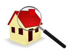 Free House Search Stock Images - 17012144