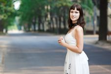 Free Portrait Of Naturally Beautiful Woman In Her Twent Royalty Free Stock Image - 17012266