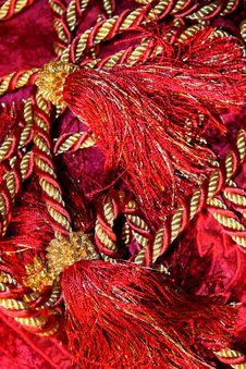 Free Curtain Decoration, Bouquet Stock Photos - 17013293