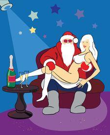 Free Santa Royalty Free Stock Photography - 17013457