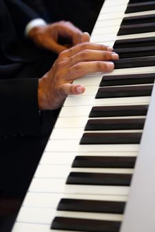 Free Hands Of Pianist Royalty Free Stock Photography - 17013707