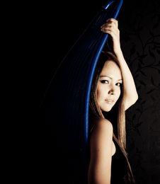 Free Beautiful Asian Girl Portrait Royalty Free Stock Image - 17014396