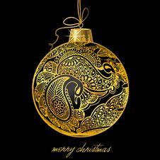 Free Christmasball Illustration Stock Images - 17014814