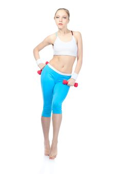 Free Woman In Fitness Stock Photo - 17015280