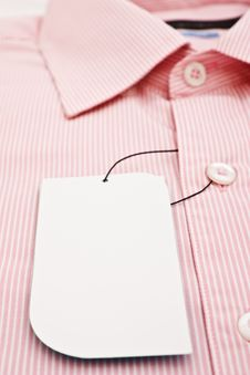 Free New Men S Shirt And New Label Stock Image - 17017411