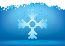 Free Abstract Winter Snowflake Background Stock Image - 17018061