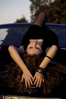 Free Beautiful Woman On A Sunny Day Stock Photo - 17018890