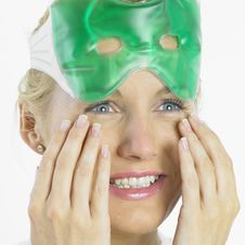 Free Woman With Facial Mask Stock Image - 17019141
