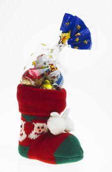 Christmas Boot Stock Photos