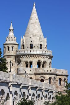 Free Detail Of The Fisherman S Bastion Royalty Free Stock Photos - 17019758
