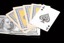 Free Playing Cards Stock Photos - 17019813