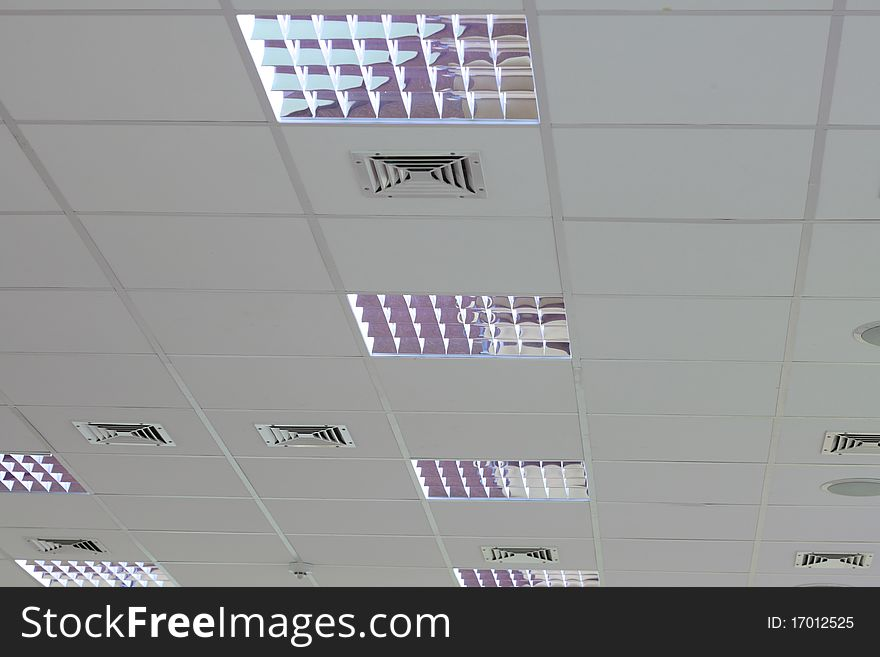 Light set in the roof