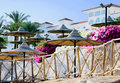Free Parasols In Hotel Royalty Free Stock Image - 17022286