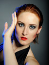 Free Desperate Woman With Perfect Bright Make-up Stock Photos - 17024313