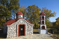 Free Small Orthodox Church At Greece Stock Photography - 17024342