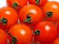 Free Many Beautiful Red Cherry Tomato Isolated Stock Photo - 17024490