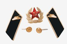 Free The Soviet Army Attributes Royalty Free Stock Photo - 17020355