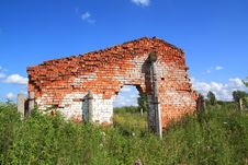 Free Destroyed Building Royalty Free Stock Image - 17020456