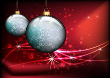 Free Christmas Background Design Stock Photos - 17021783