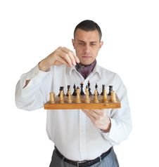 Free Chess Player Royalty Free Stock Images - 17021789