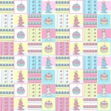 Free Christmas Patchwork Royalty Free Stock Images - 17022219