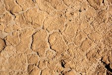 Free Surface Of Dry Clay Stock Image - 17022441