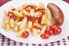Free Fried Potato Stock Photo - 17022950
