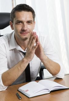 Free Office Worker Posing For Camera Stock Images - 17023004