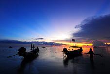 Free Sunset At Koh Tao Royalty Free Stock Photo - 17024155