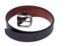 Free Men S Leather Business Belt Royalty Free Stock Photo - 17024595