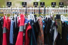 Free Hanger On Rod Royalty Free Stock Image - 17024646