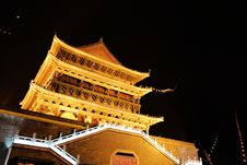 Free Drum-tower In Xian Royalty Free Stock Image - 17024866